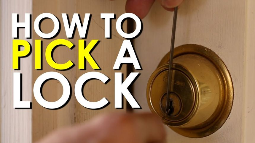 How to Pick a Door Lock