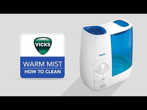 Vicks Warm Mist Humidifier VWM845 - How to Clean